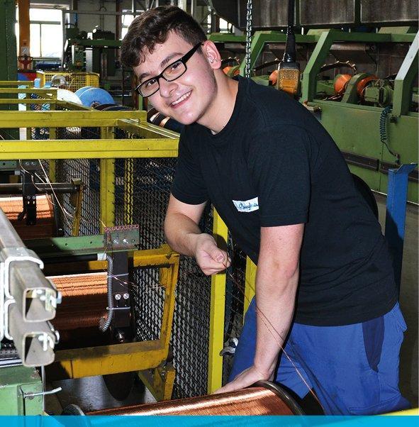 AUSBILDUNG: Maschinen- und Anlagenführer (m/w/d) Metall- und Kunststofftechnik mit Zusatzqualifikation Draht- und Kabeltechnik (Praktikum   Roth)