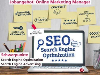 Online Marketing Manager (Schwerpunkt SEM, SEO, SEA) (Vollzeit   Hamburg)