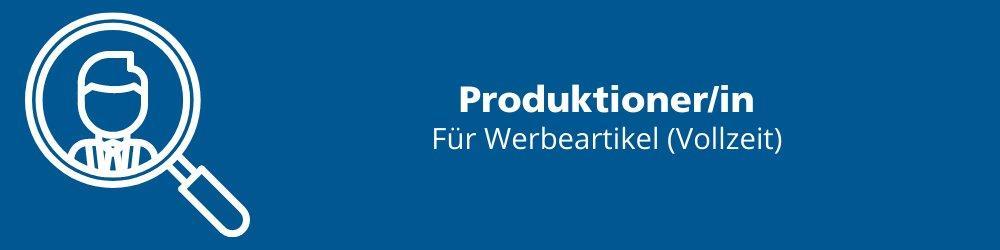 Produktioner/in (Vollzeit   Eichenau)